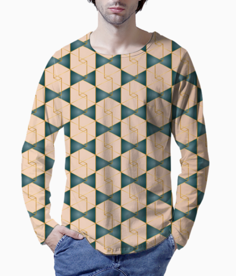Royal pattern  2 henley front