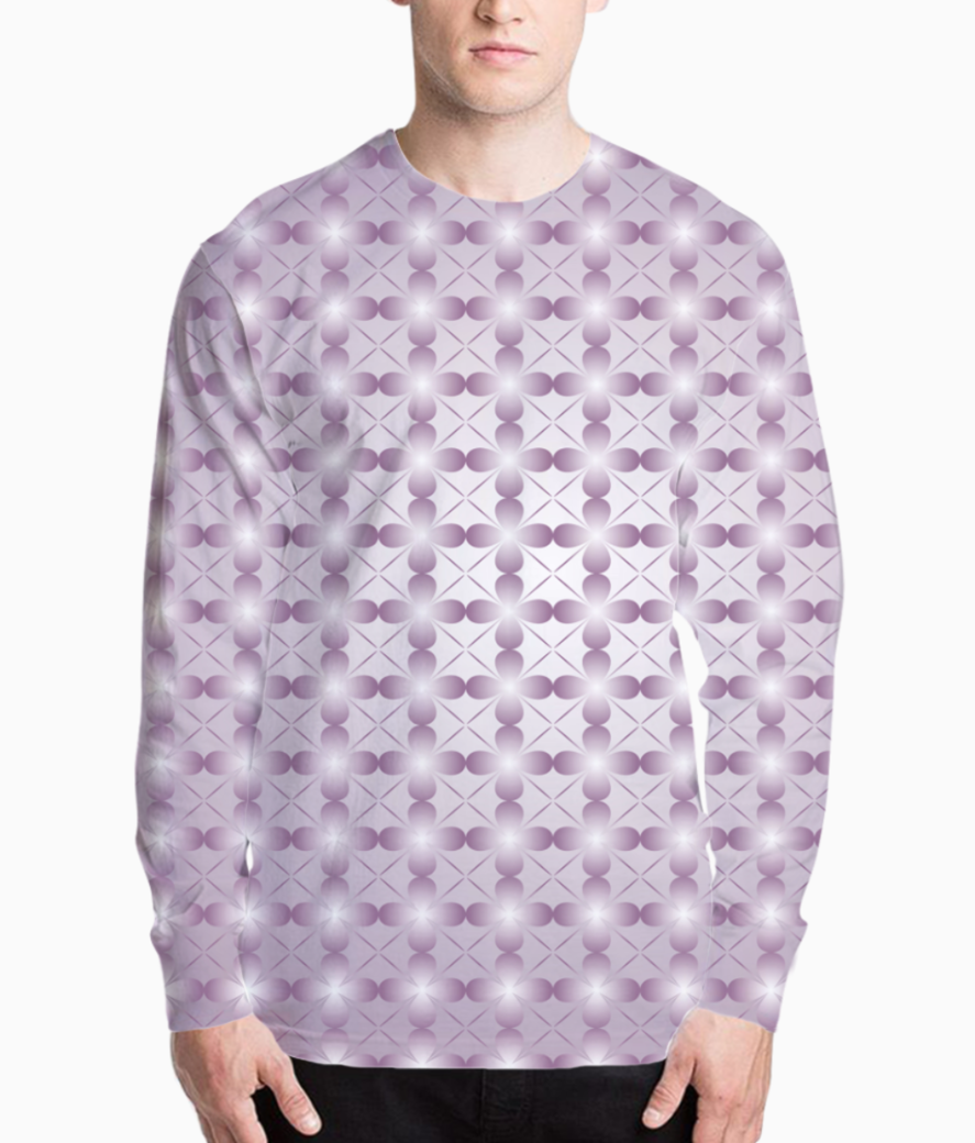 Abstract pink seamless pattern background henley front