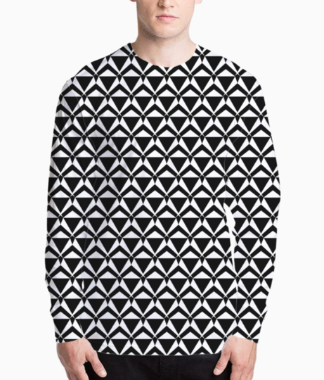 Ancient tribal seamless pattern background henley front
