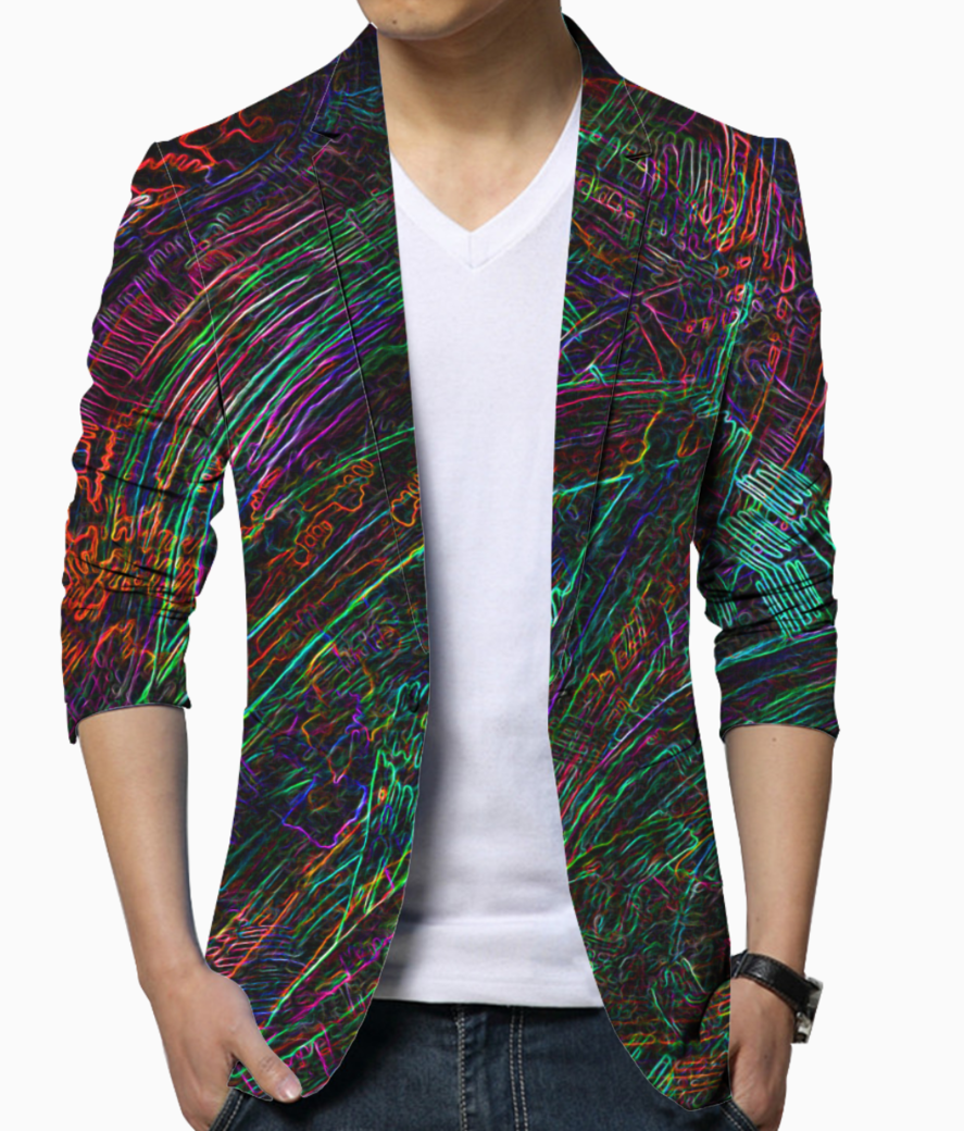 Dashy wash blazer front