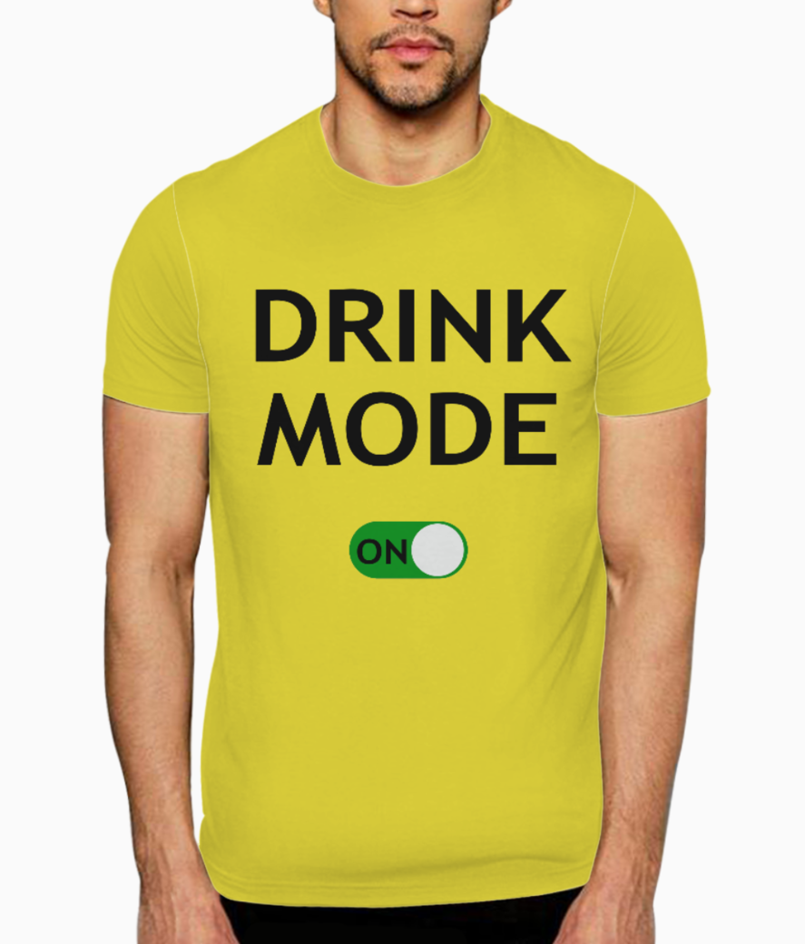 Drink b t shirt front