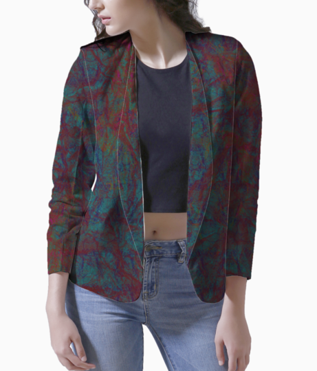 Sulphate blazer front