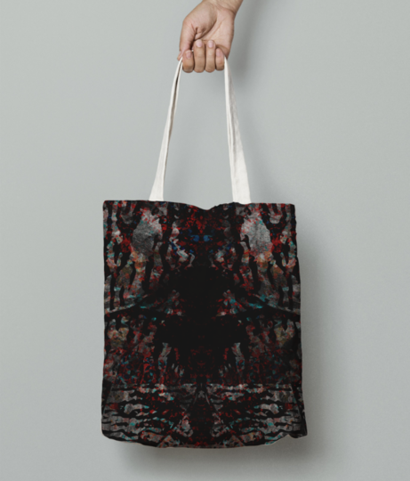 Wilderness tote bag front