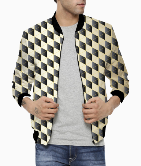 Royal diamond art bomber front