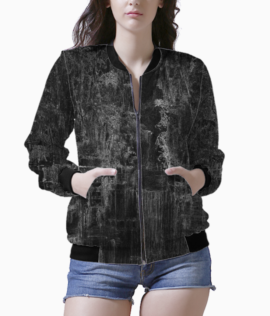 Abstracted bomber front