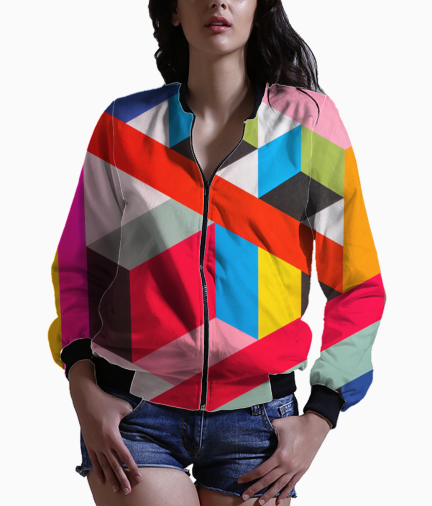 Color rush bomber front