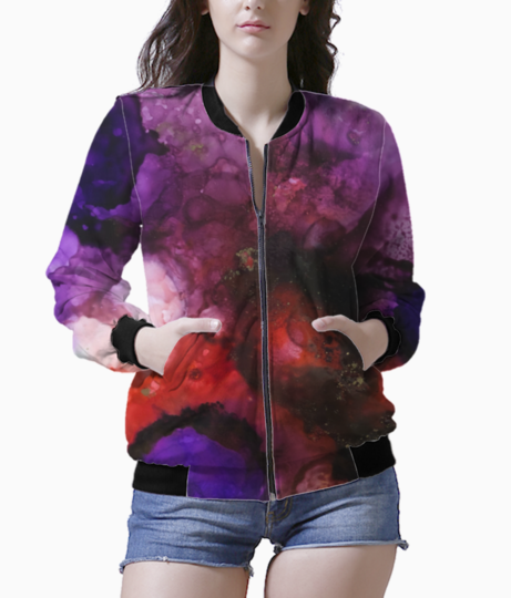 Color dona bomber front