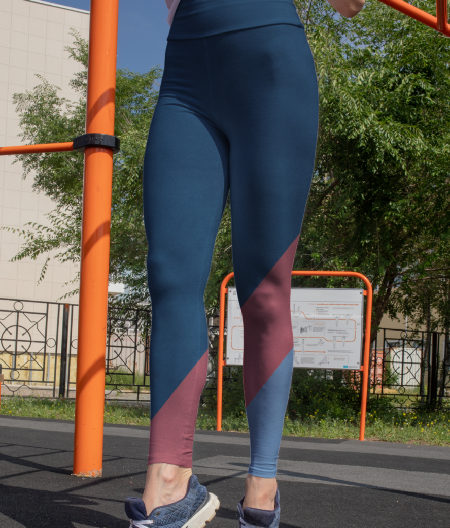 Pastel sue leggings front