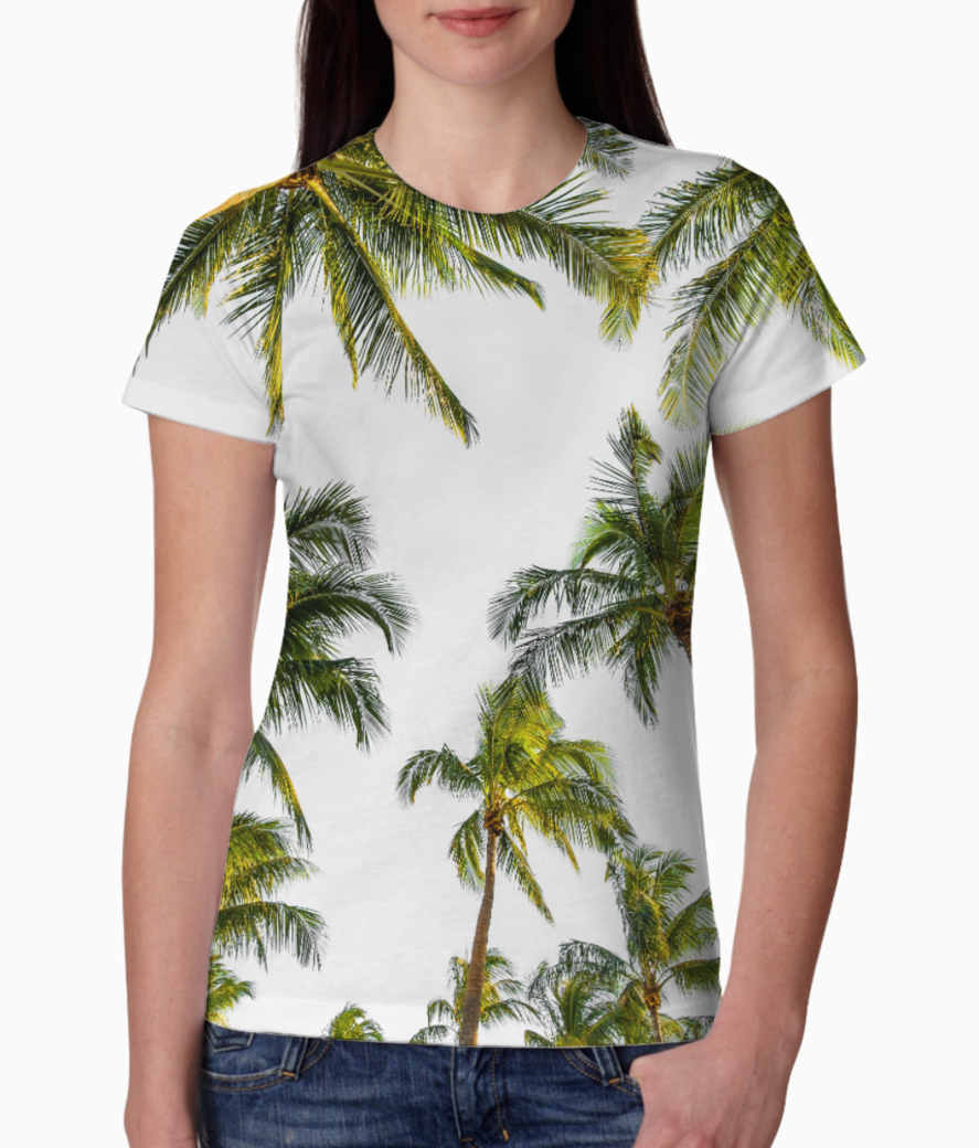 Coconut fall tee front