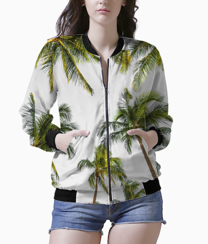 Coconut fall bomber front
