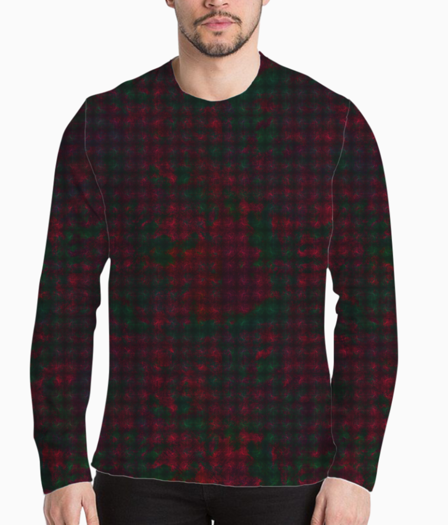 Checkers henley front
