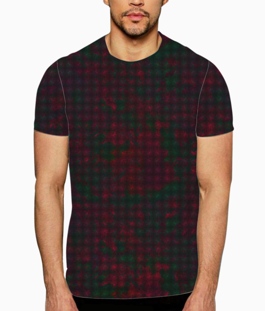 Checkers t shirt front