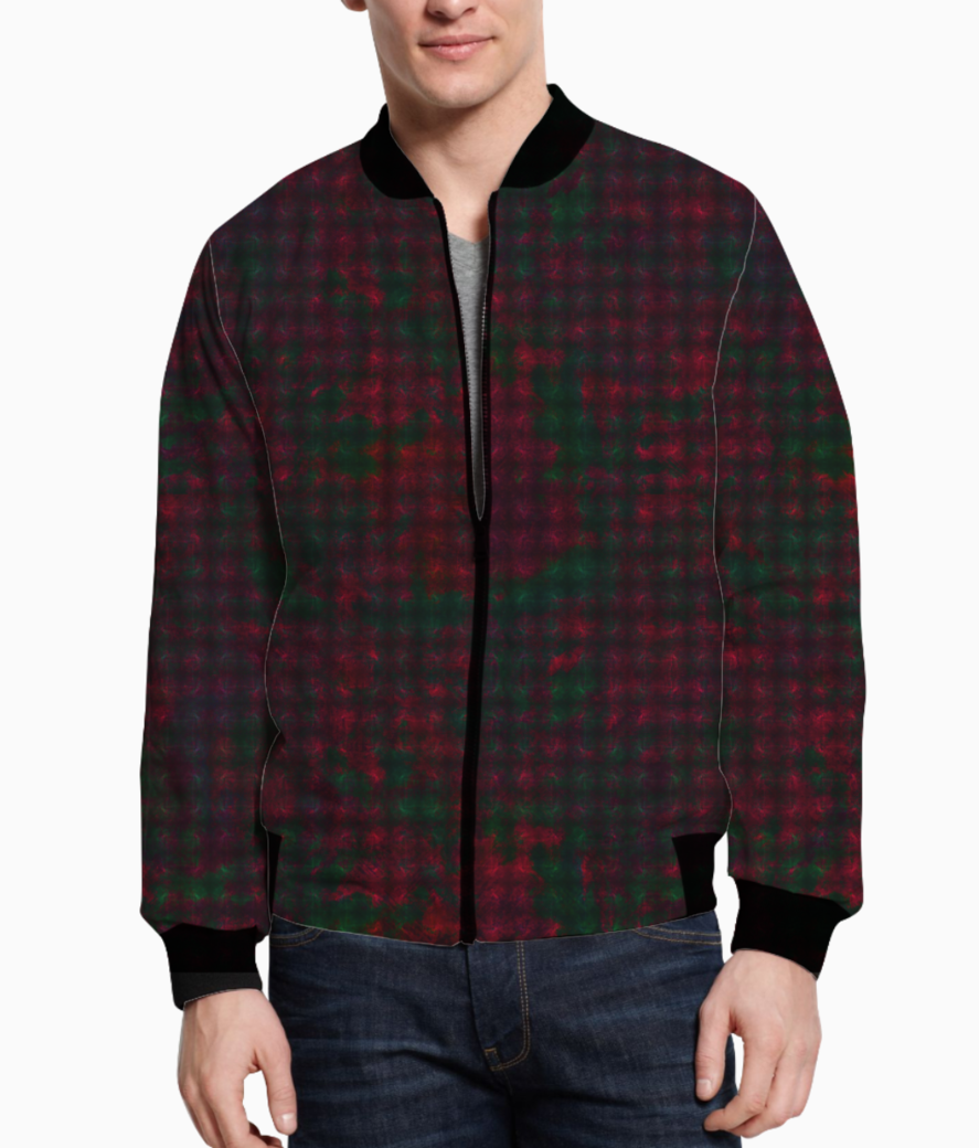 Checkers bomber front