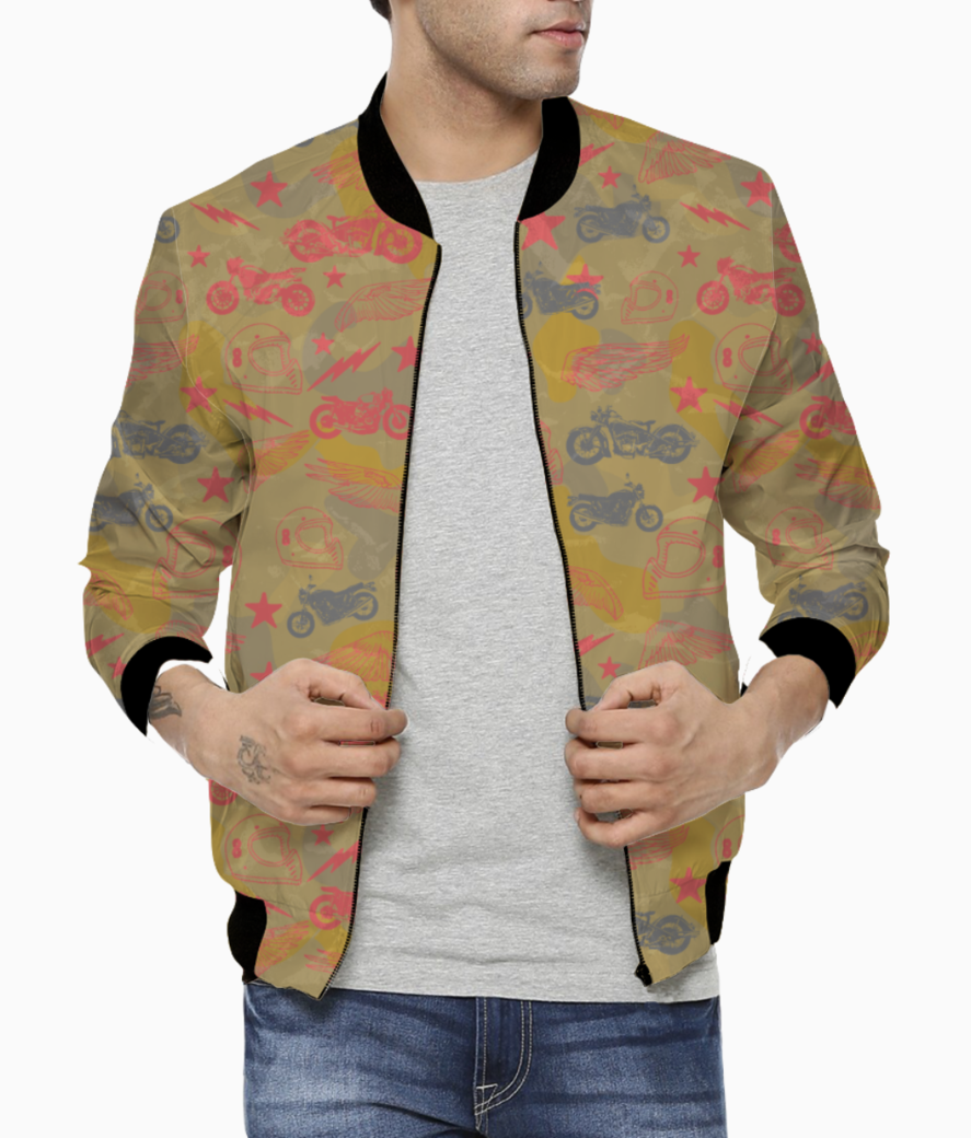 Bikes from heaven bomber front