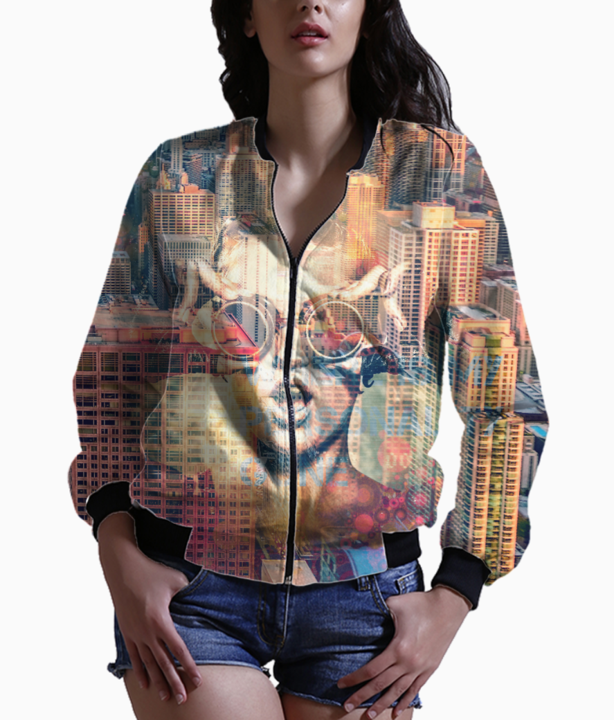 Personality bomber bomber front
