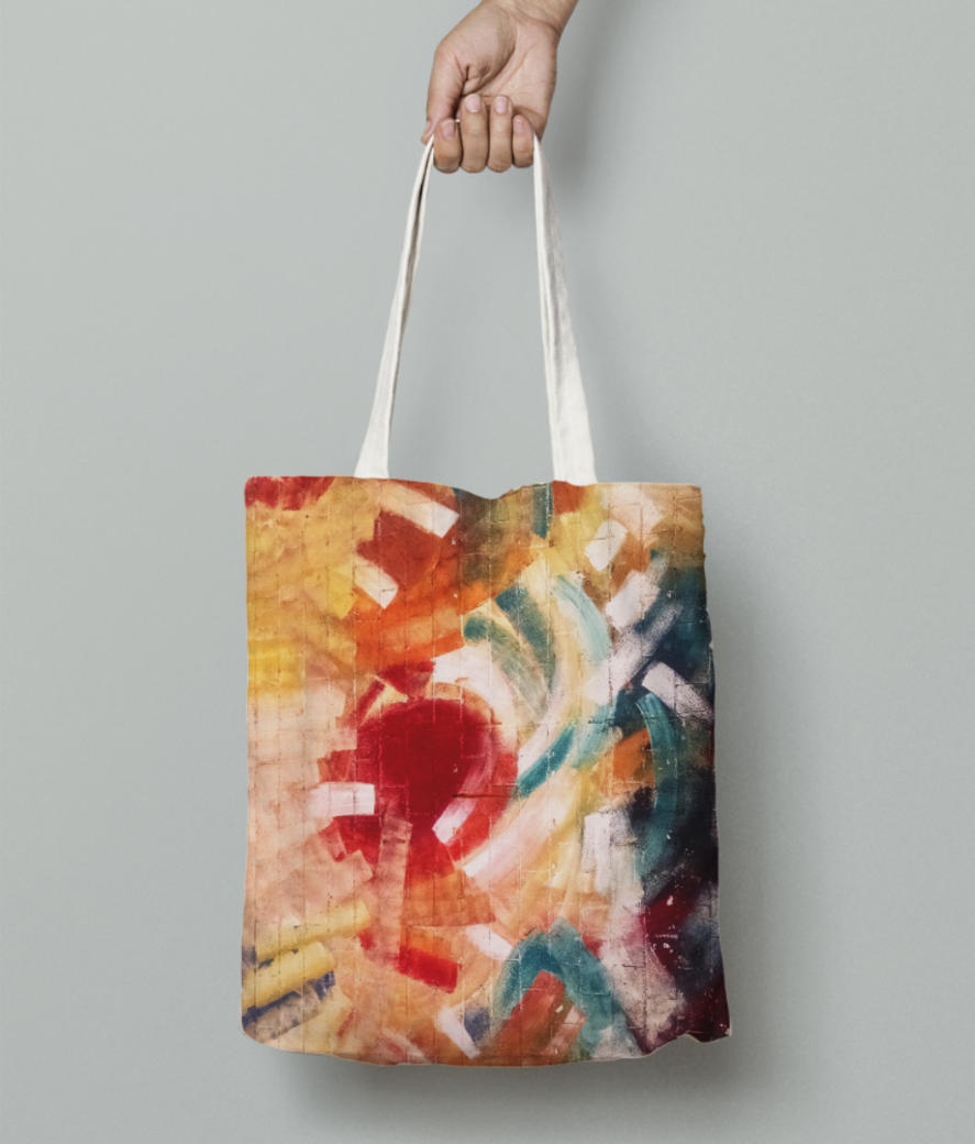 Brick lover tote bag front
