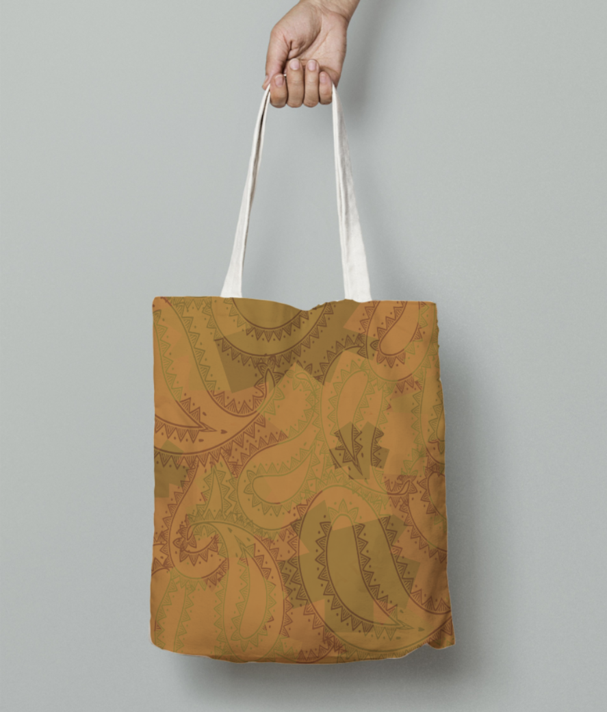Ethnicity tote bag front