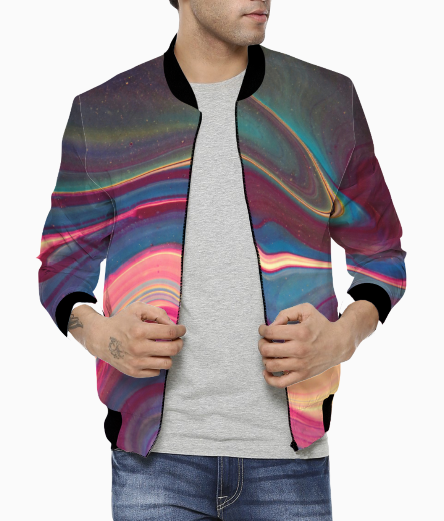 Curve mix bomber front