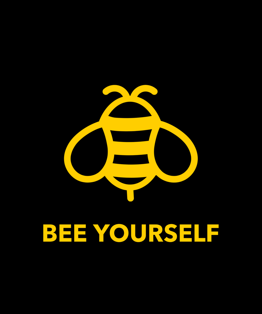 Quote t shirt design maker with a bee illustration 1808f