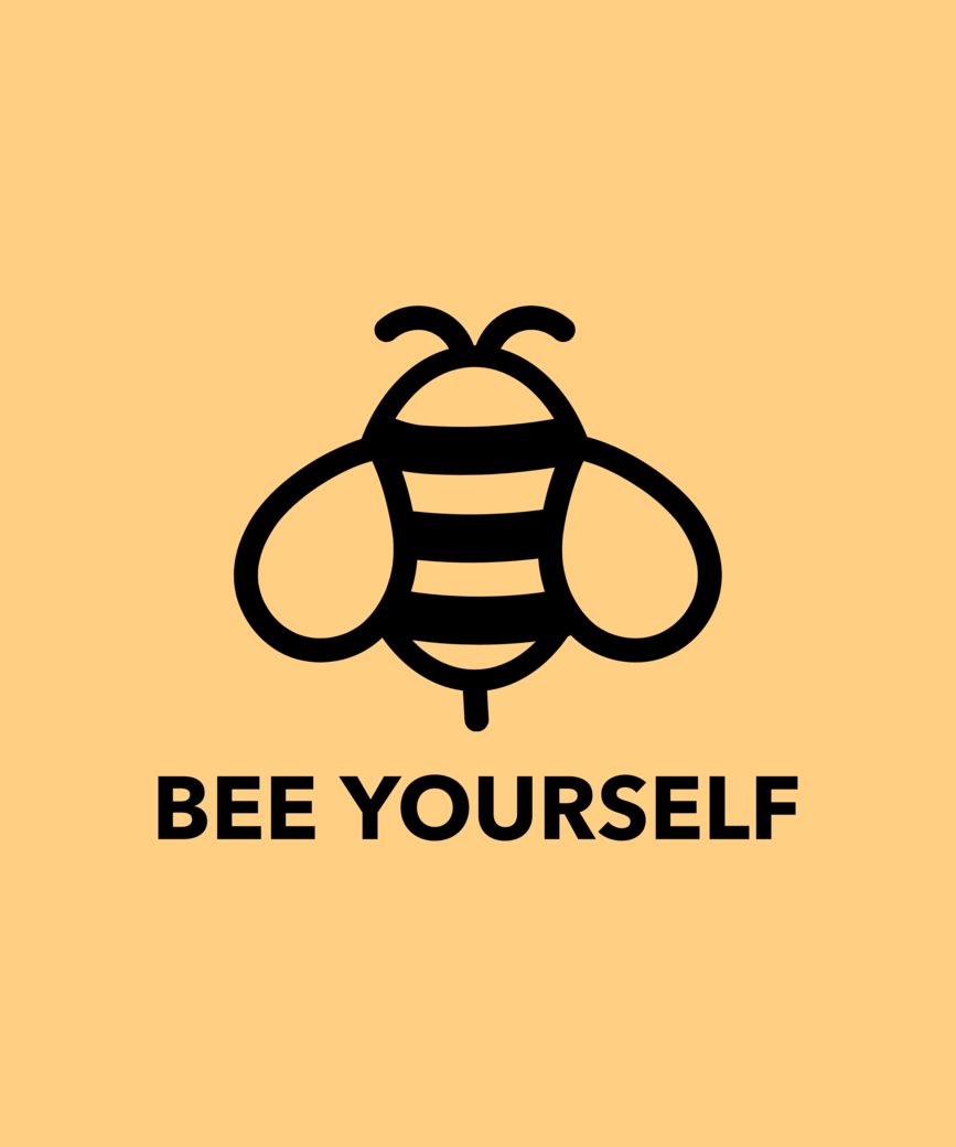 Quote t shirt design maker with a bee illustration 1808f %281%29