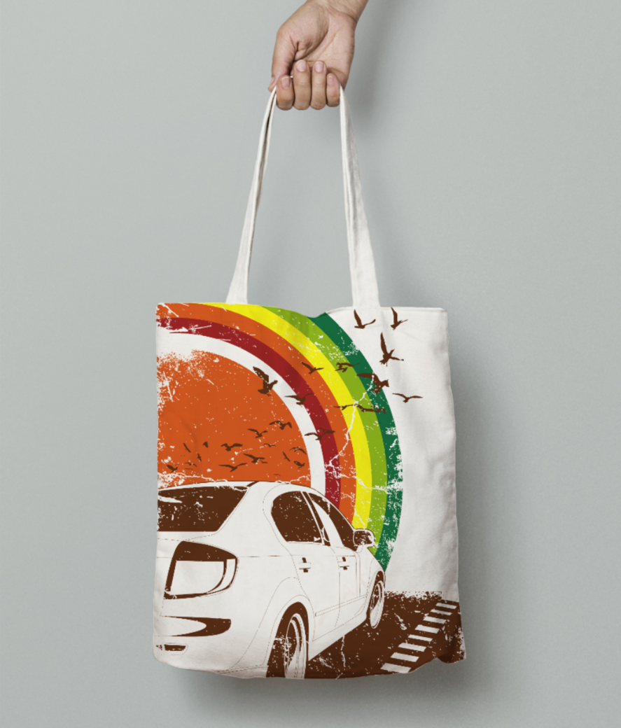 My fantasy car tote bag front