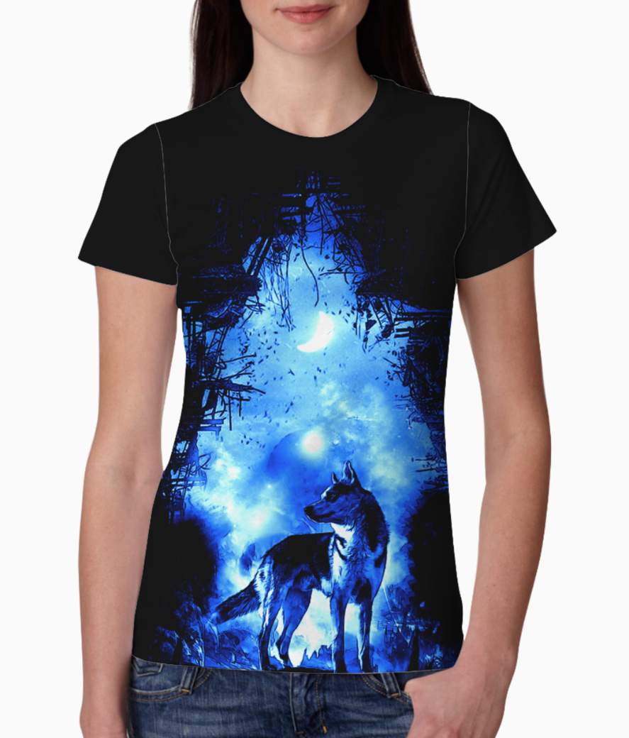 The wolf tee front