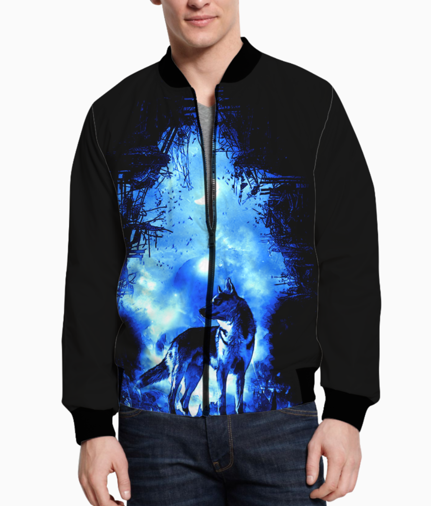 The wolf bomber front