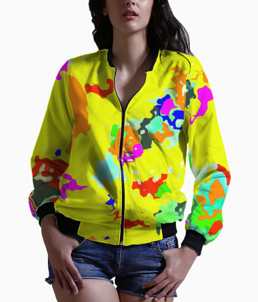 Untitled 20 bomber front