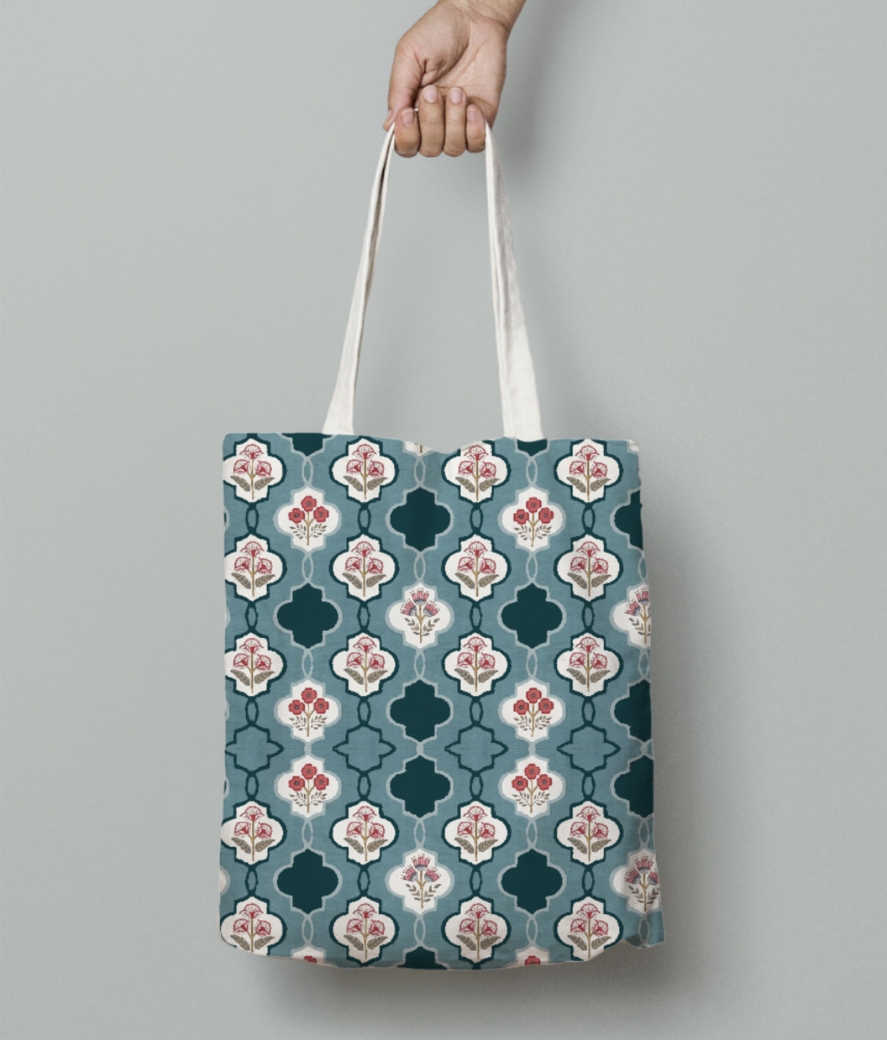 45 tote bag front