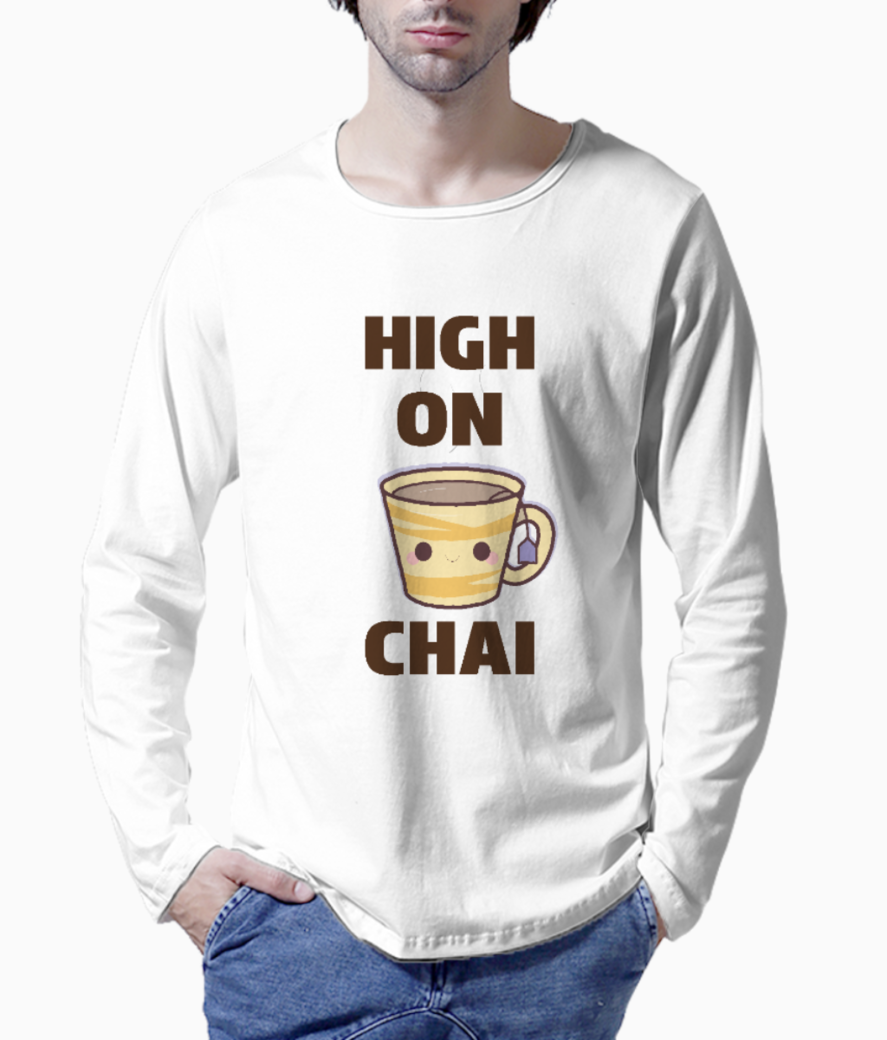 High on chai henley front
