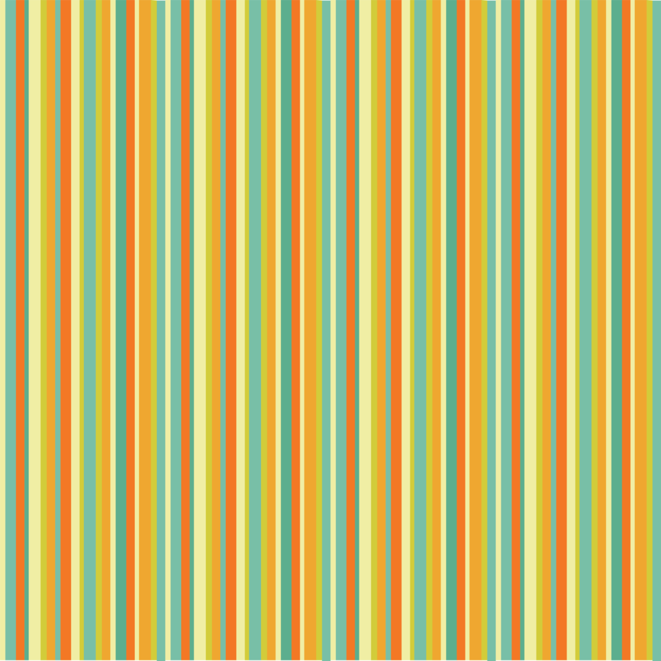 Colourful stripes yellow