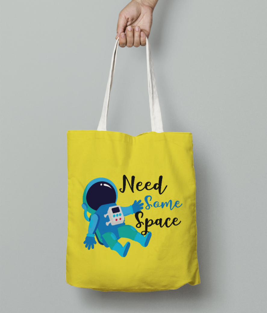 Need some space tote bag front