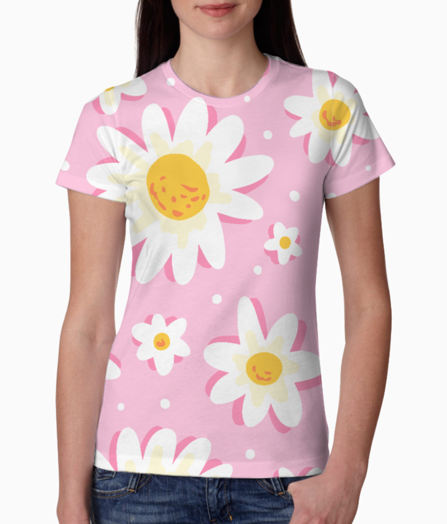 Sunflower love tee front