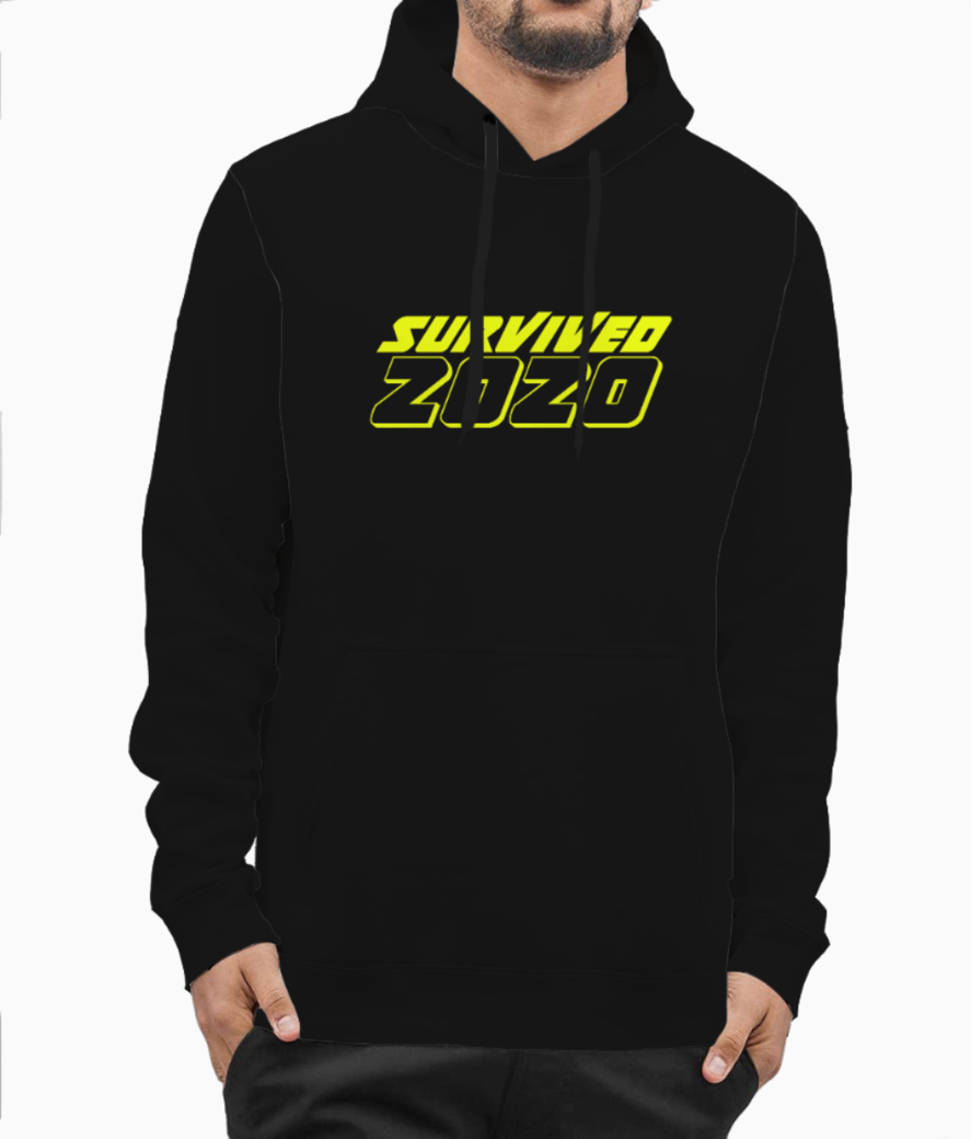 Survived 2020 copy hoodie front