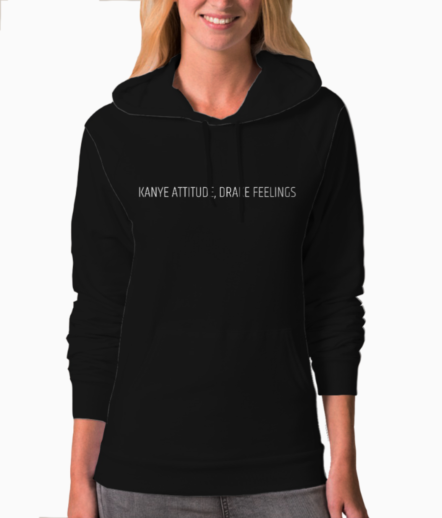 Add a heading hoodie front