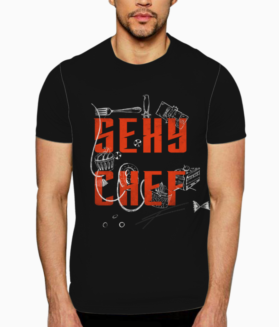 Sexy chef 2 t shirt front